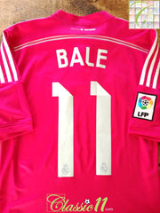 2014/15 Real Madrid Away La Liga Football Shirt Bale #11 (XL)