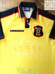 1996/97 Scotland Away Football Shirt (XL)