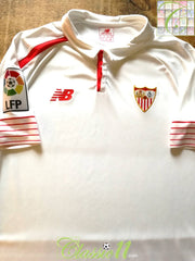 2015/16 Sevilla Home La Liga Football Shirt (L)