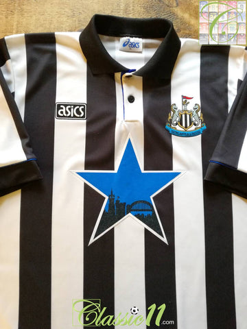 1993/94 Newcastle United Home Football Shirt (XL)