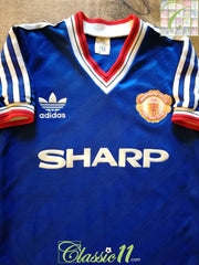 1986/87 Man Utd 3rd Football Shirt (Y)