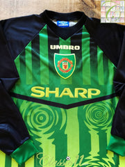 1997/98 Man Utd Goalkeeper Football Shirt (Y)