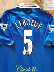 1997/98 Chelsea Home Premier League Football Shirt Lebouef #5 (L)