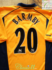 2000/01 Liverpool Away Premier League Football Shirt Barmby #20 (S)