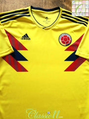 2018/19 Colombia Home Football Shirt (M)