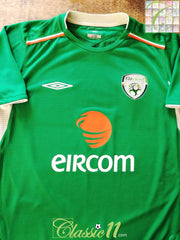 2004/05 Republic of Ireland Home Football Shirt (M)