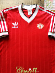 1982/83 Man Utd Home Football Shirt (S)