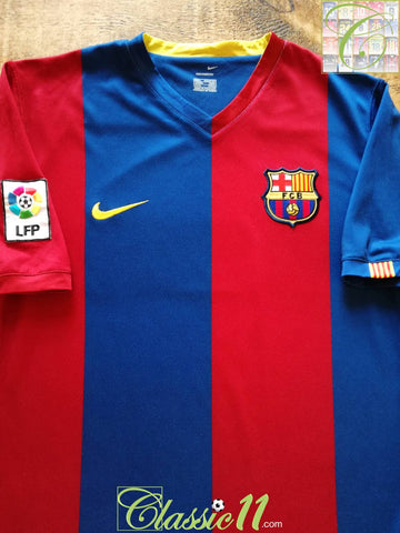 2006/07 Barcelona Home La Liga Football Shirt (L)