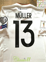 2017/18 Germany Home Player Issue Football Shirt Müller #13 (M) *BNWT*