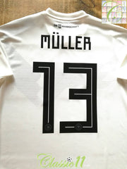 2018/19 Germany Home Player Issue Football Shirt Müller #13 (M) *BNWT*
