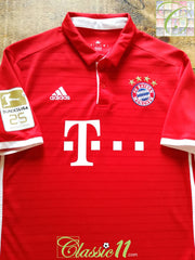 2016/17 Bayern Munich Home Football Shirt (S)