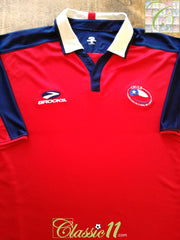 2003/04 Chile Home Football Shirt (XL)