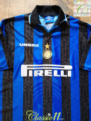 1997/98 Internazionale Home Football Shirt (XXL)