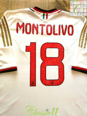 2013/14 AC Milan Away Football Shirt Montolivo #18 (XXXL)
