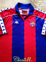 1992/93 Barcelona Home Football Shirt (XL)