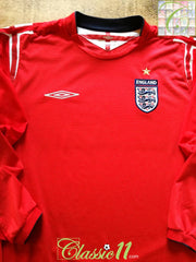 2004/05 England Away Football Shirt. (L)