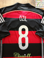2014/15 Germany Away World Champions Football Shirt Ozil #8 (M)