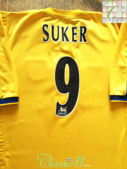 1999/00 Arsenal Away Premier League Football Shirt Suker #9 (XL)