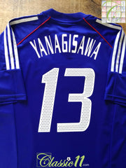 2002/03 Japan Home Football Shirt Yanagisawa #13 (XL)