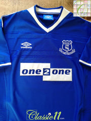 1999/00 Everton Home Football Shirt (XL)