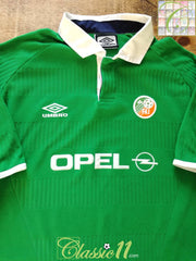 2000 Republic of Ireland Home Football Shirt (L)