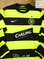 2009/10 Celtic Away Football Shirt. (L)