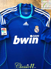 2008/09 Real Madrid Away La Liga Football Shirt (L)