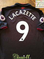2017/18 Arsenal 3rd Premier League Football Shirt Lacazette #9 (L)