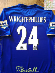 2005/06 Chelsea Home Premier League Football Shirt Wright-Phillips #24 (S)