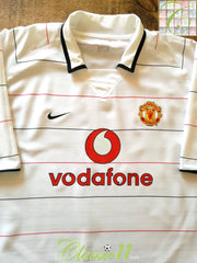 2003/04 Man Utd 3rd Football Shirt (XXL)
