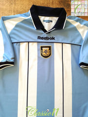 2000/01 Argentina Home Football Shirt (L)