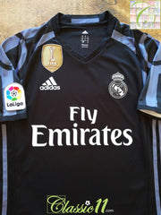 2016/17 Real Madrid 3rd World Champions Player Issue Football Shirt (S)
