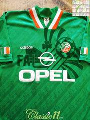 1994/95 Republic of Ireland Home Football Shirt (M)