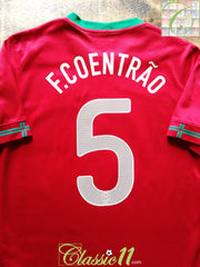 2012/13 Portugal Home Football Shirt F.Coentrão #5 (S)