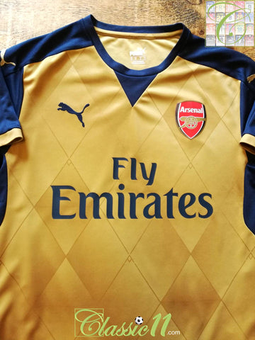 2015/16 Arsenal Away Football Shirt (S)