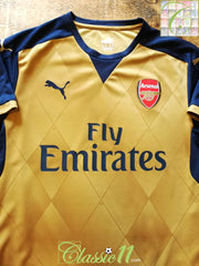 2015/16 Arsenal Away Football Shirt (M)