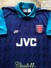 1994/95 Arsenal Away Football Shirt (XXL)