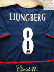 2002/03 Arsenal Away Premier League Football Shirt Ljungberg #8 (L)