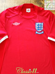 2010 England Away World Cup Football Shirt (M) (L)