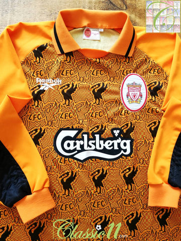 1996/97 Liverpool Goalkeeper Football Shirt (Y)