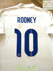 2014/15 England Home Football Shirt Rooney #10 (M)