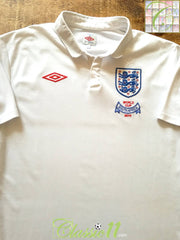 2010 England Home World Cup Football Shirt (M)