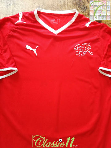 2008/09 Switzerland Home Football Shirt (XXL)