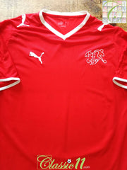 2008/09 Switzerland Home Football Shirt (M)