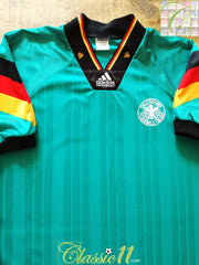 1992/93 Germany Away Football Shirt (M) (L)