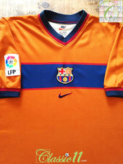 1998/99 Barcelona 3rd La Liga Football Shirt (XL)