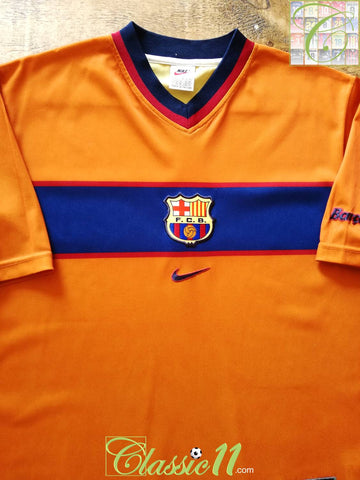 1998/99 Barcelona 3rd Basic Football Shirt (L)