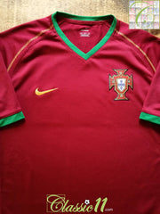2006/07 Portugal Home Football Shirt (M)
