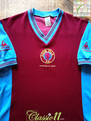 1982/83 Aston Villa Home Football Shirt (M)