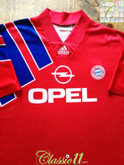 1991/92 Bayern Munich Home Football Shirt (L)
